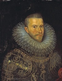a portrait of albert vii, archduke of austria by frans pourbus (-unattributable)