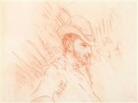 sketch, portrait d'un homme by pierre-auguste renoir