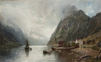 sognefjord by anders monsen askevold