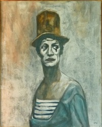 mime marceau by pierre lafille