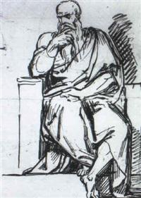 studio per figura by francesco sabatelli
