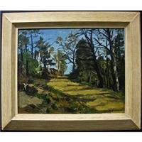 untitled (winding path) by william goodridge roberts
