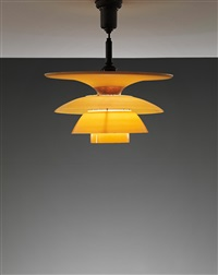 4-shade ceiling light, type 4 4½/4 shades by poul henningsen