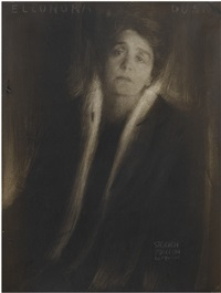 eleanora duse by edward steichen