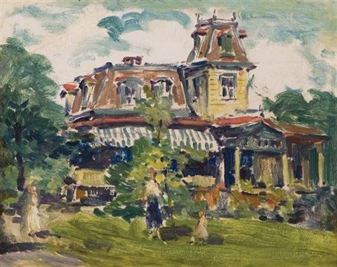 a victorian house (+ 3 others; 4 works) by gertrude fiske