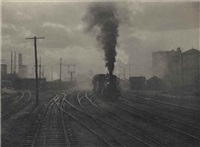 selected photogravures from camera work #12 and #36 (4 works) by alfred stieglitz