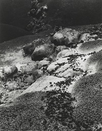notom, utah and wall: new mexico (2 works) by minor white
