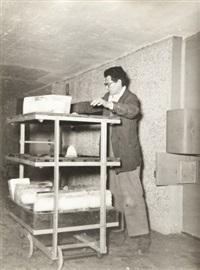 le livreur de glace, marseille by louis sciarli