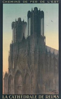 la cathédrale de reims by jean droit