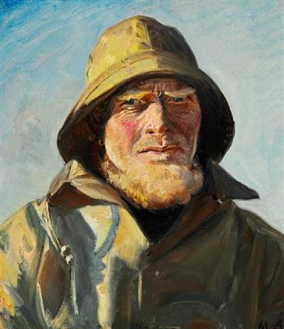 fisherman from skagen jens bagh madsen by michael peter ancher