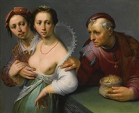 the choice between young and old by cornelis cornelisz van haarlem