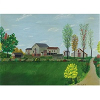 hendrickson's barn by henry thomas gulick