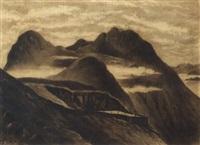 the peak, hong kong by e. sandys