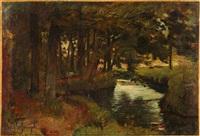 rivière sous bois by joseph bail