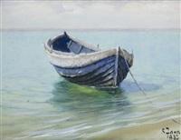 łódź na plaży by soter jaxa-malachowski