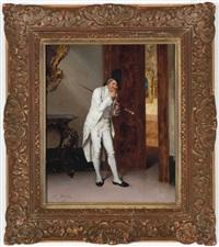 a gentleman bemused by francesco beda