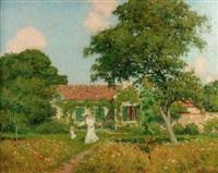 la promenade dans le jardin by marcel adolphe bain