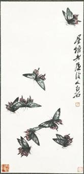 蝴蝶 片 by qi baishi