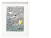 kite over water by wilhelmina barns-graham