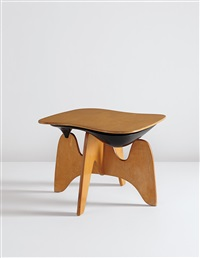 rare chess table, model no. in-61 by isamu noguchi