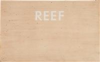 reef by ed ruscha