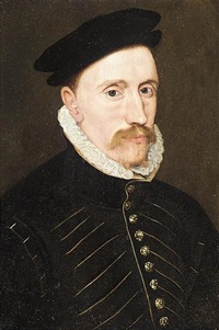portrait of a gentleman (sir thomas gresham?) by steven van der meulen