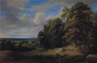 paysage du brabant by jacques d' arthois