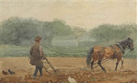 the plowman by winslow homer