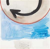 azul com flecha by mira schendel