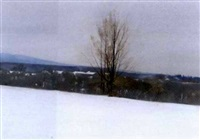 new paltz in snow by st. julian fishburne