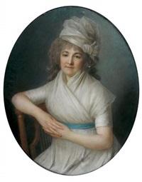 portrait de marie-thérèse legendre de villemorin by marie-victoire lemoine