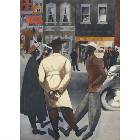 zoot suits by edward burra
