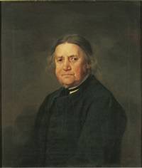 portrait of thomas smith the banksman, half-length, in a green coat by george stubbs