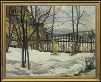 winter garden by stanislaw kamocki