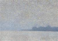 attersee - leichte sonne nach regen & nebel by rudolf junk