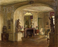 the greek room by walter gay