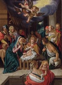 die anbetung der hirten by hans von aachen