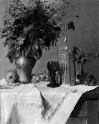 herbststrauß und früchte by ludwig neumüller