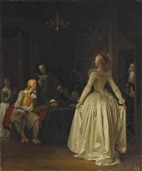 la leçon de danse by marguerite gérard