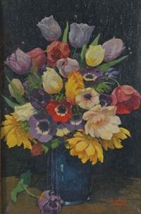 summer flowers by john edmund mace