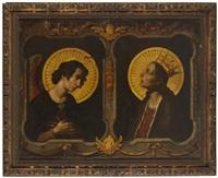 l'ange et la vierge de l'annonciation by carlo dolci