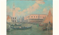 venise, le palais des doges by vianello