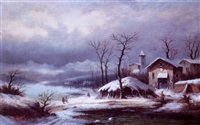paysage hivernal by a. gins