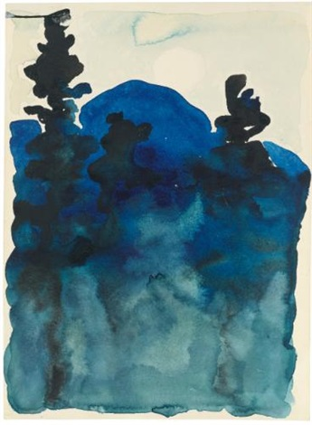 blue hills no iii by georgia okeeffe
