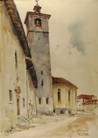 il campanile del duomo di feltre by aldo raimondi