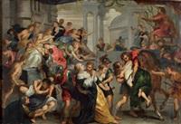 l'enlèvement des sabines by theodor van thulden