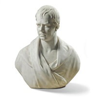 a bust of sir walter scott (1771-1832) by james fillans