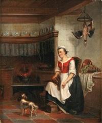 la belle cuisinière by antonius van dormolen