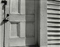oceano and church door, hornitos (2 works) by edward and cole weston