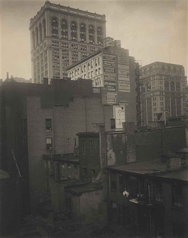 from the back window 291 ny by alfred stieglitz
